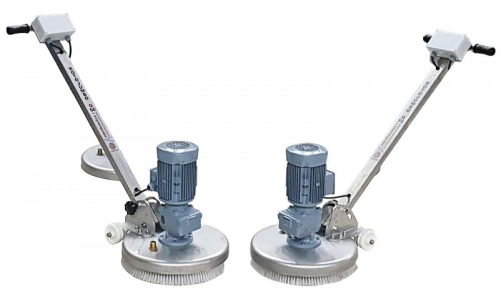 Yarı Otomatik Halı Fırçalama Makinası Rotojumbo Q 35