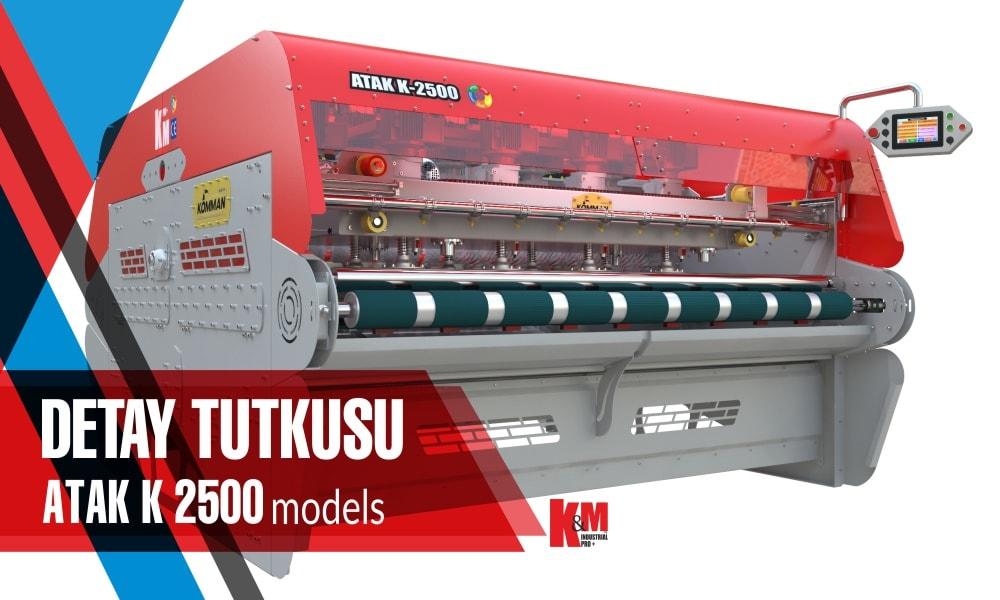 Tam Otomatik Halı Yıkama Makinası ATAK K 2500