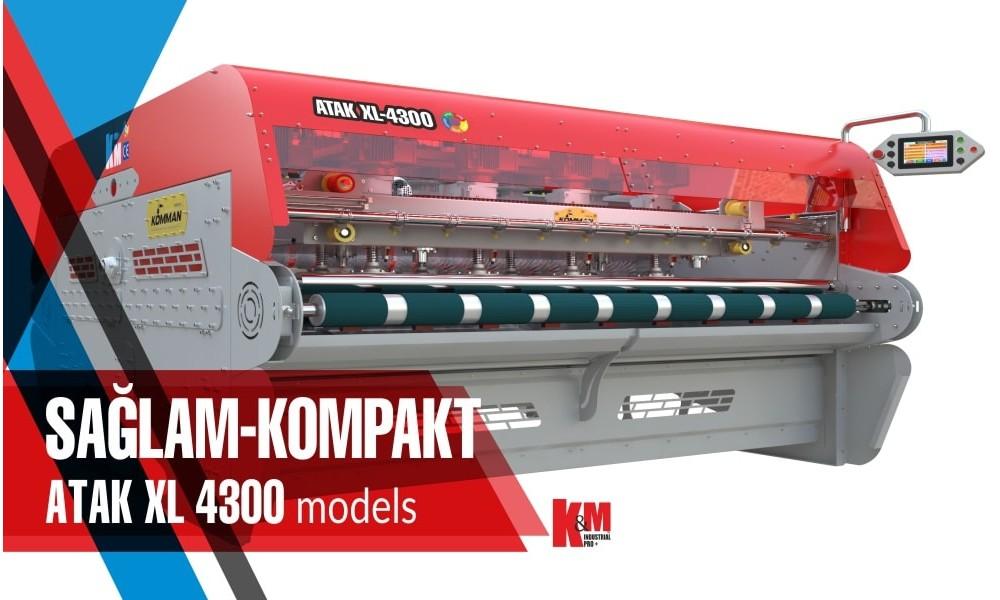 Uzun Şasi Tam Otomatik Halı Yıkama Makinası ATAK XL 4300