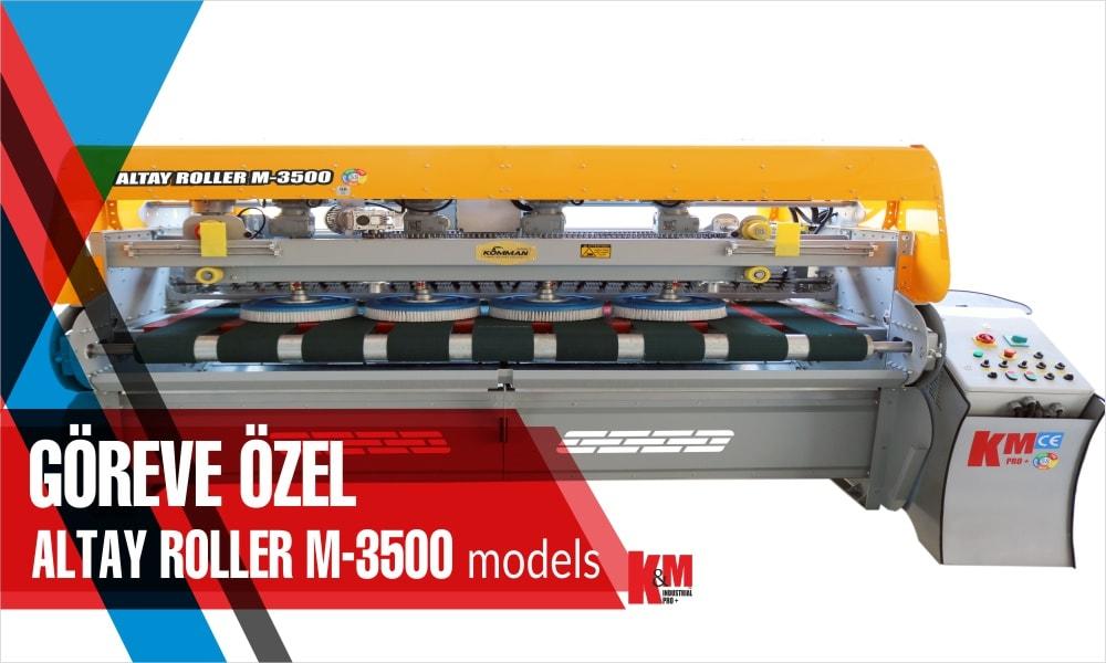 Tam Otomatik Halı Yıkama Makinası ALTAY ROLLER  M 3500
