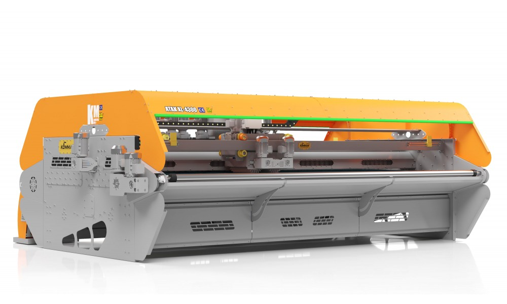 Büyük Model Tam Otomatik Halı Yıkama Makinası ATAK XL 4300