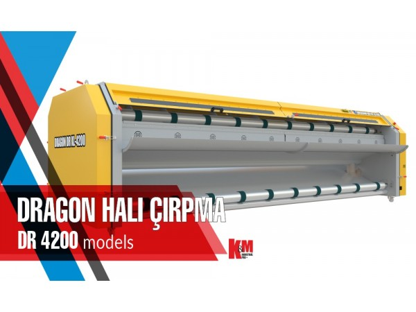 Dragon Halı Çırpma Makinası DR XL 4200