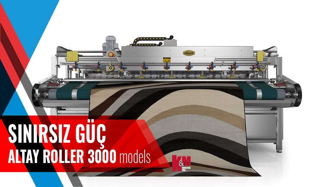 Tam Otomatik Halı Yıkama Makinası ALTAY ROLLER İNOX 3000