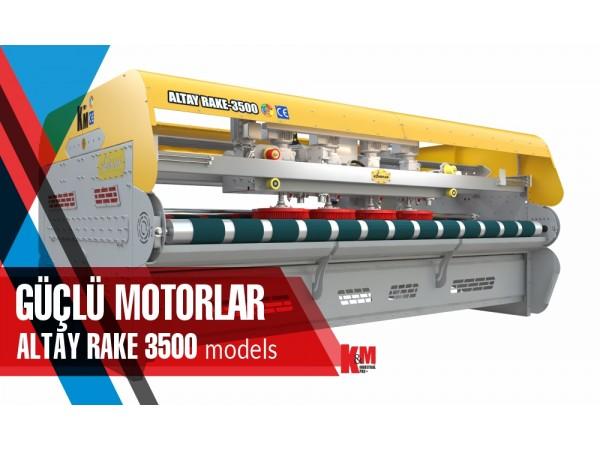 Tam Otomatik Halı Yıkama Makinası ALTAY RAKE 3500