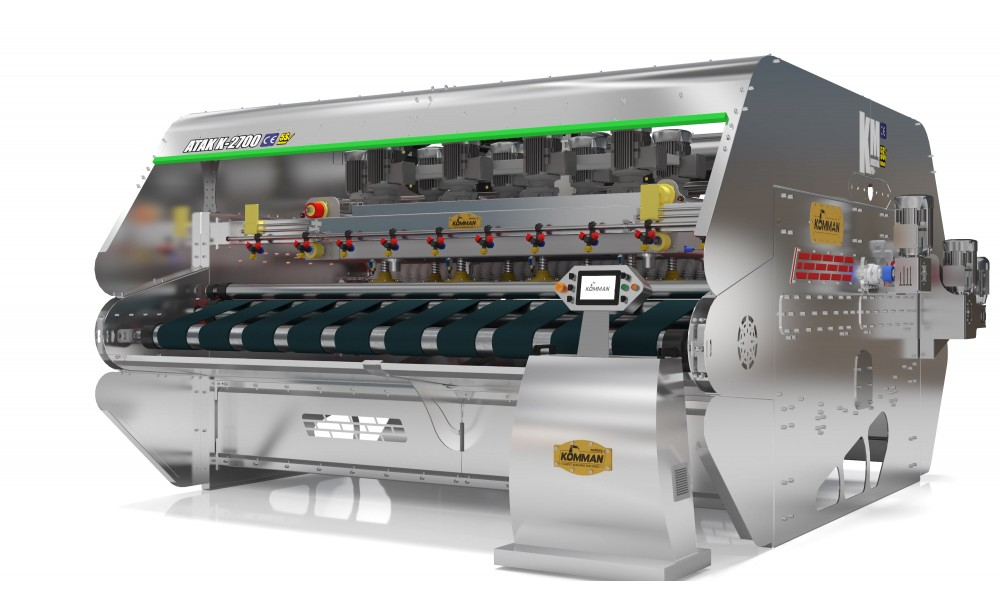 Full Otomatik Paslanmaz - Krom Halı Yıkama Makinası  ATAK İNOX  K 2700